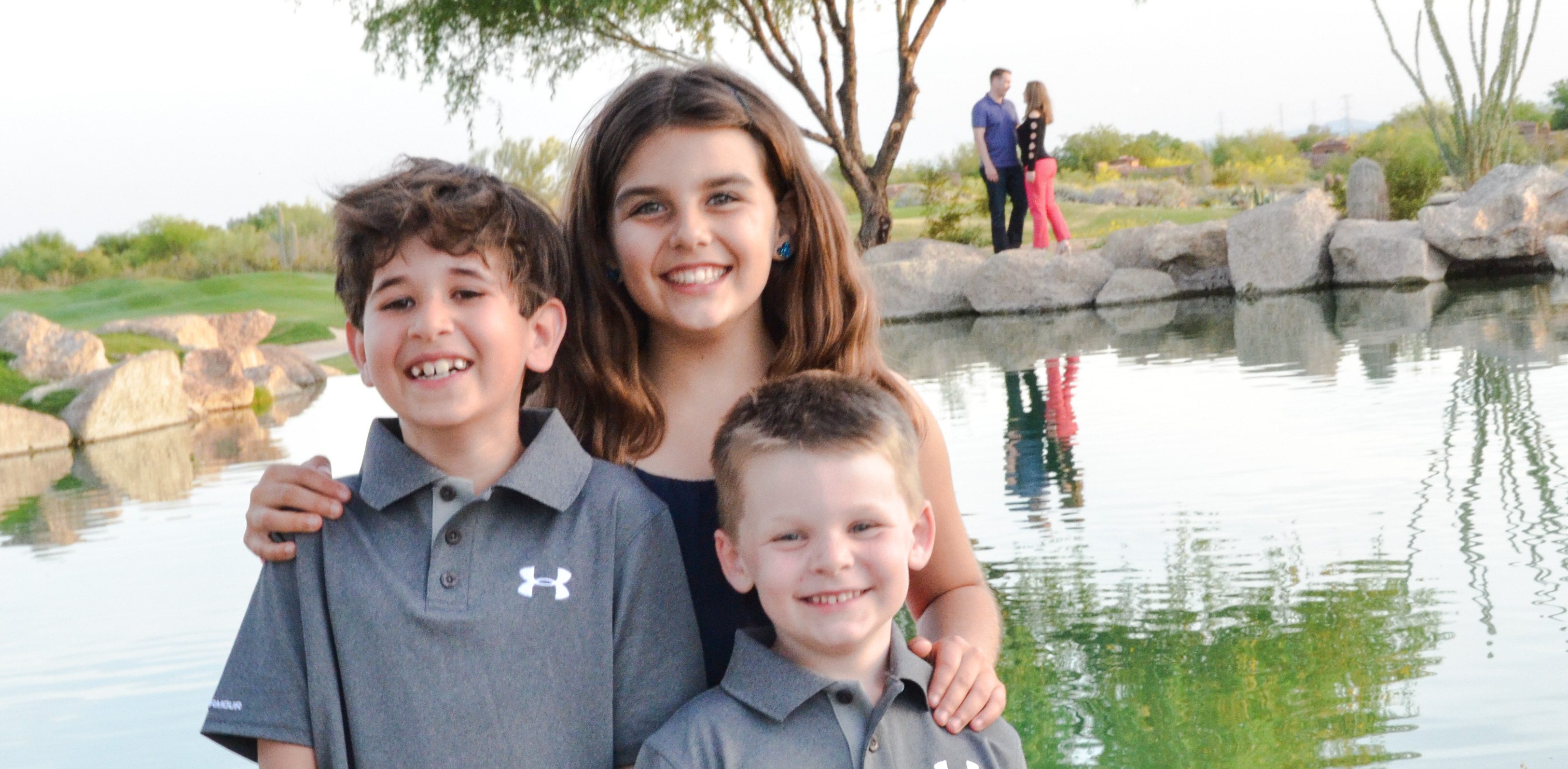 Maritess, Sean and Brady